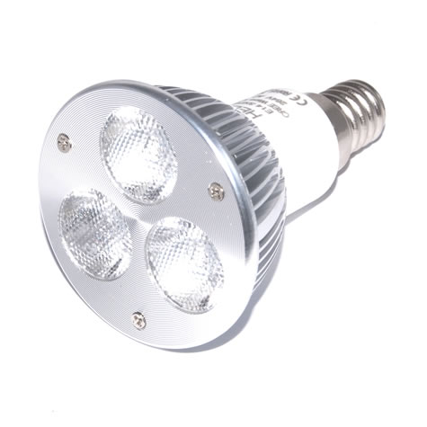 E14 Powerled CREE 3x2W Power LED Spot 6 watt Warm wit